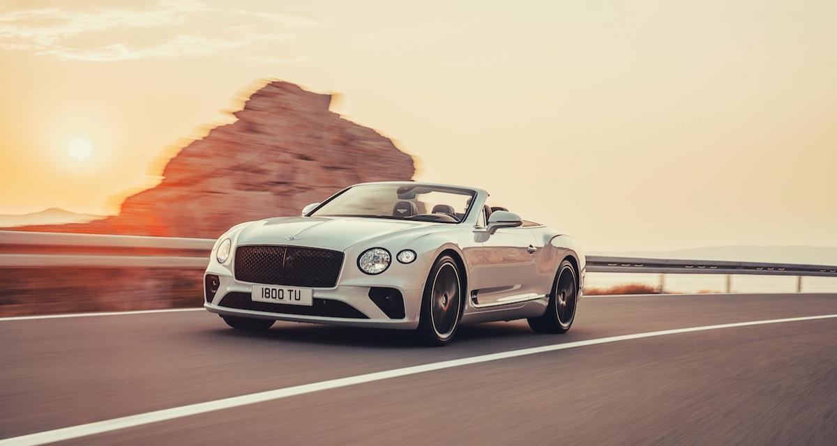 La nouvelle Bentley Continental GT devient cabriolet