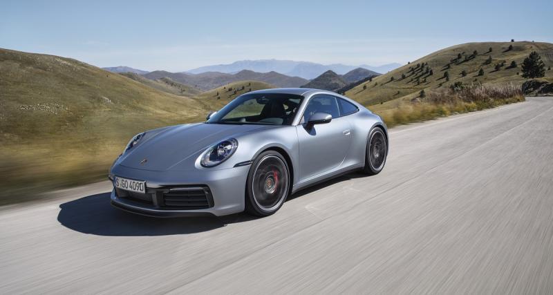 Nouvelle Porsche 911 : toutes les photos officielles