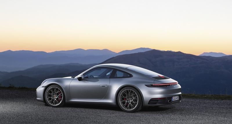 Nouvelle Porsche 911 : 450 chevaux pour les Carrera S et 4S