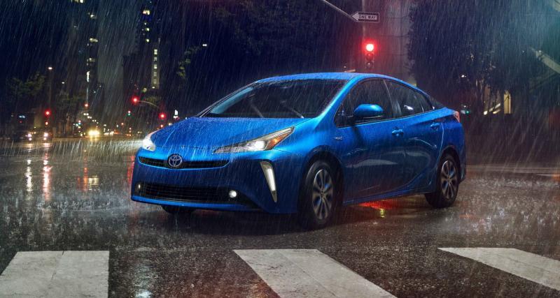 Toyota Prius AWD-e : l'hybride passe aux 4 roues motrices