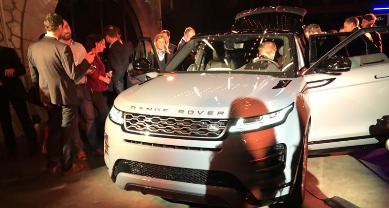 Range Rover Evoque : les photos de la présentation du SUV à Paris