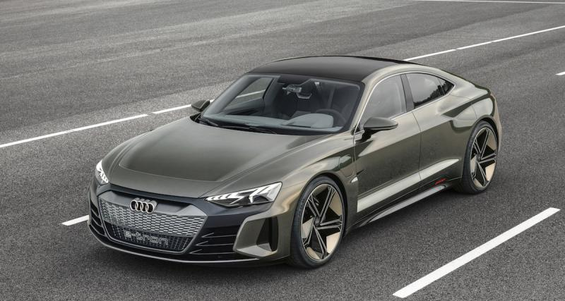 Audi e-tron GT Concept : la Porsche Taycan selon Ingolstadt