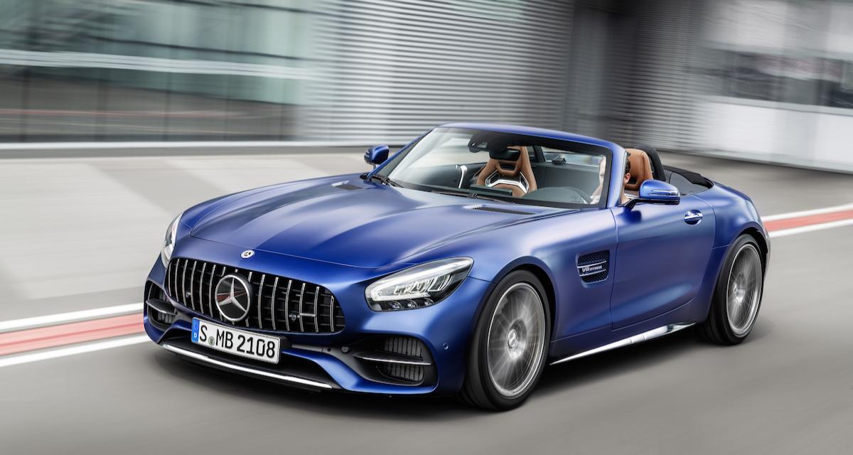 Mercedes-AMG GT 2019 : un restylage qui se concentre sur l'habitacle