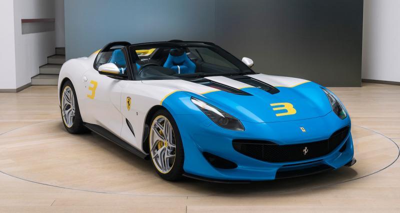 Ferrari SP3JC : quand la F12tdf s'essaye au pop art