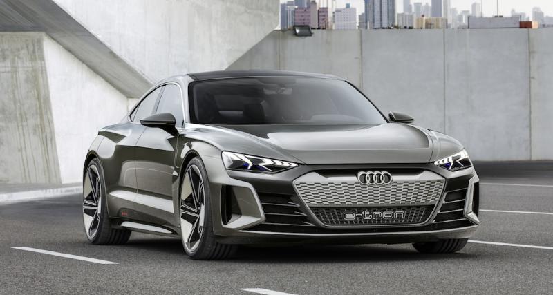 L'Audi e-tron GT Concept en 5 points