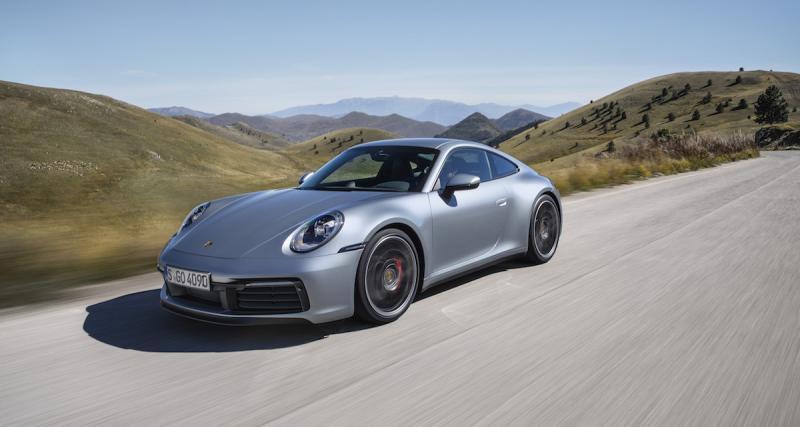 La Porsche 911 type 992 en 5 points