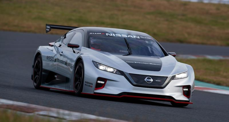 Nissan Leaf Nismo RC : l'électrique devient voiture de course