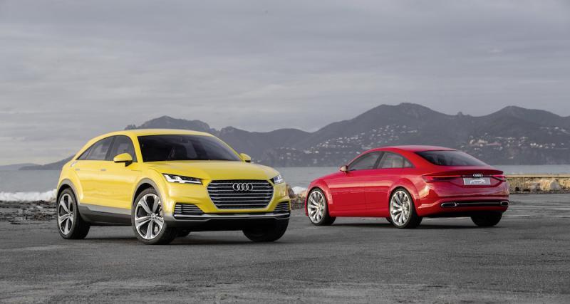 Audi Q4 : commercialisation en 2019 pour le TT Offroad ?
