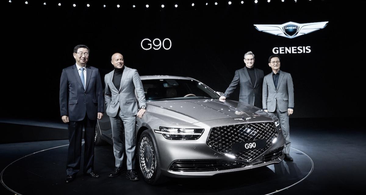 La Genesis G90 en 3 points