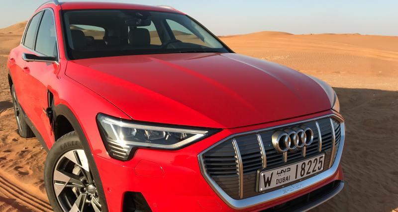 Audi e-Tron Quattro : toutes nos photos de l'essai depuis Abu Dhabi