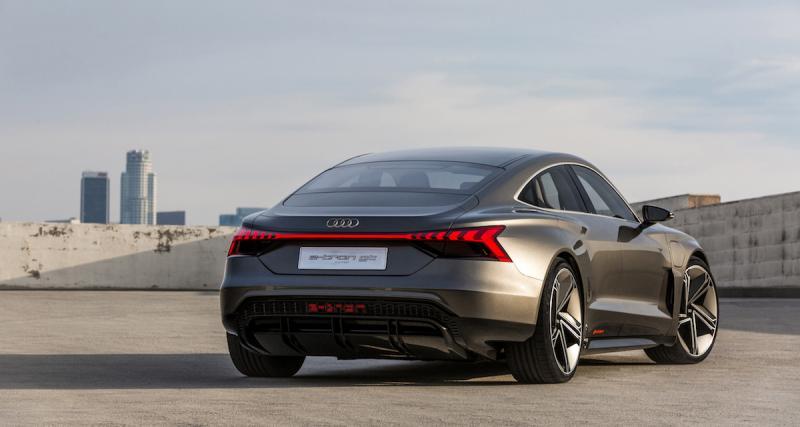 Audi e-Tron GT : star du prochain Avengers 4
