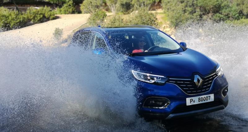 Essai du Renault Kadjar restylé: nos impressions au volant