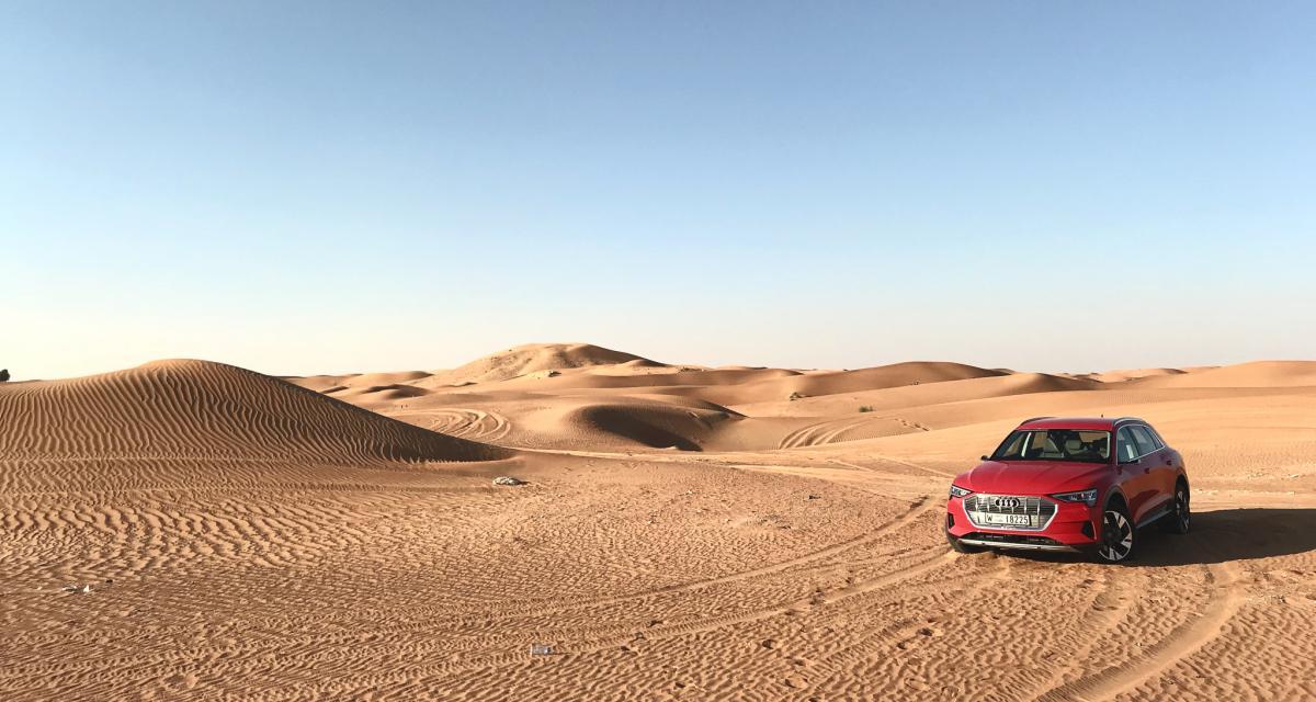 Essai de l'Audi e-Tron 55 Quattro: nos impressions au volant du 1er SUV électrique de la marque