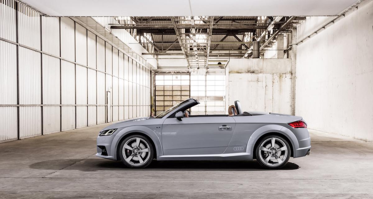 Audi TT 20 Years : 20 ans, ça se fête
