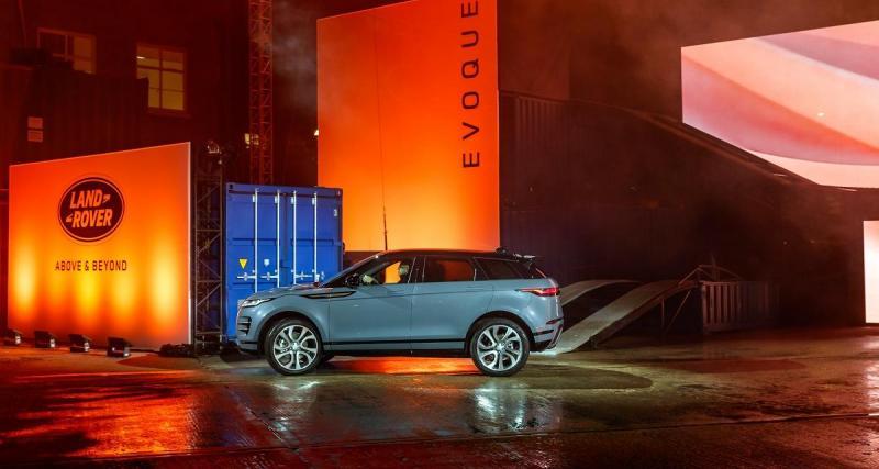 Prix du Range Rover Evoque : près de 40 000 euros en entrée de gamme