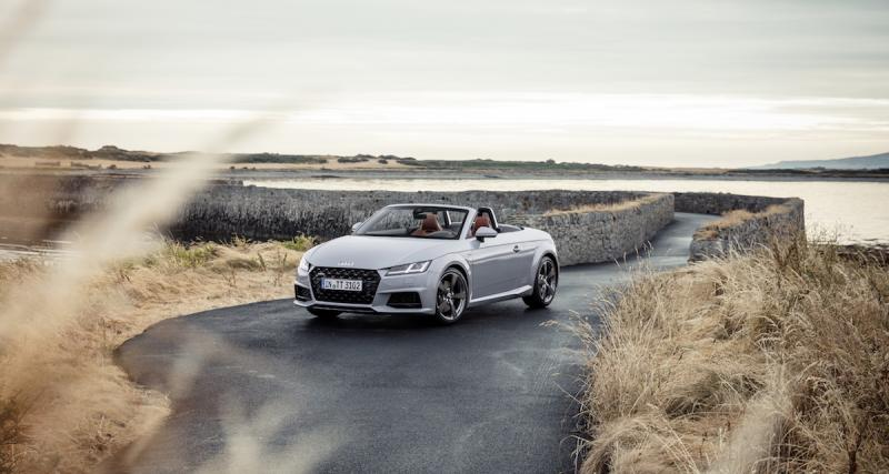 L'Audi TT 20 Years en 3 points