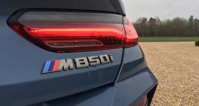 Nouvelle BMW Série 8 : les photos de notre essai