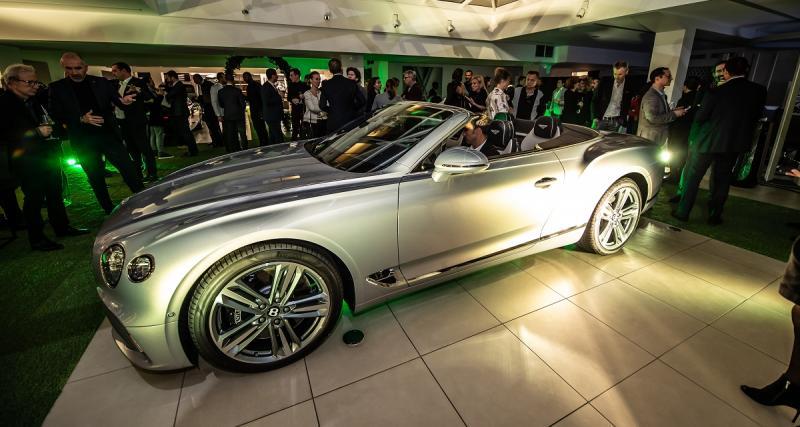 Bentley Continental GTC : première nationale au Four Seasons, toutes les photos