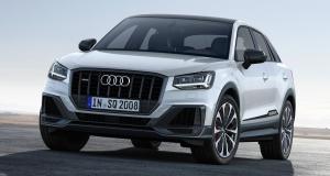 Audi SQ2: nouvelles photos du SUV urbain de 300 chevaux