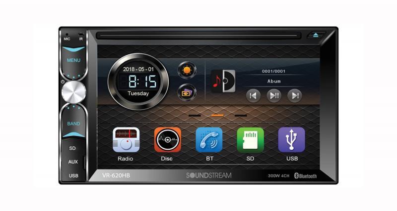 CES 2019 : Soundstream présentera un autoradio 2 Din compatible Android