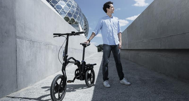 Mobilité : le vélo Peugeot eF01 lauréat du Janus de l'industrie