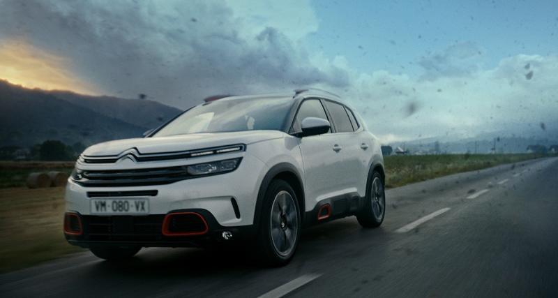 Citroën C5 Aircross : la pub TV en avant-première