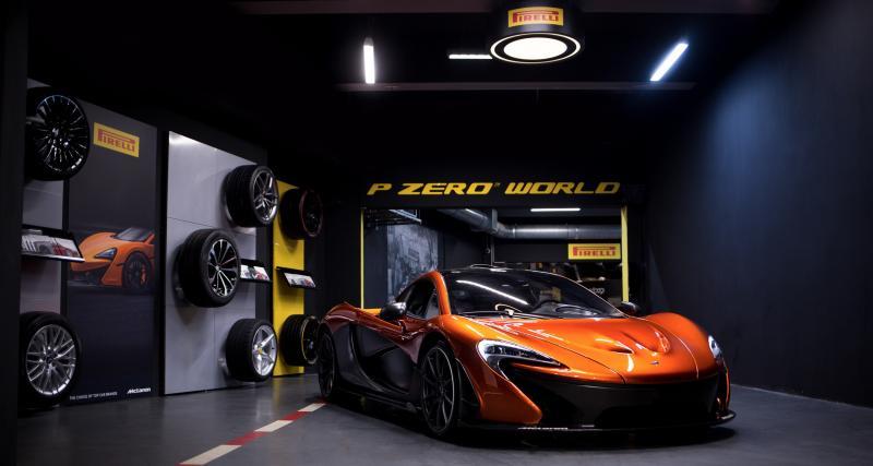 P Zero World Flagship Store: le centre d'entretien premium