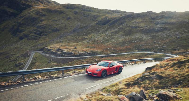 """Porsche """"inédite"""" et avantage client"""