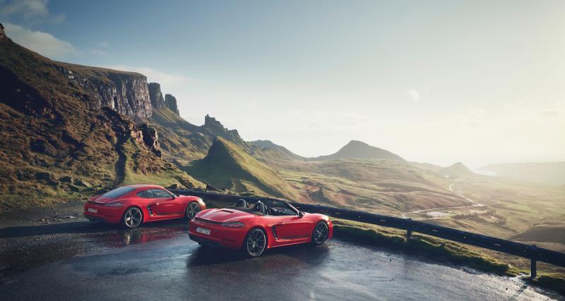 Porsche Cayman et Boxster 718 Touring: les 4 points à retenir