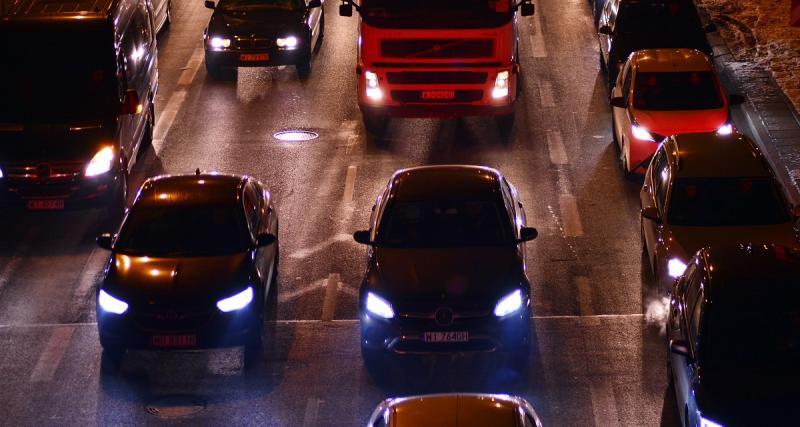 Bouchons sur la route : un vendredi 21 décembre classé rouge en Ile-de-France