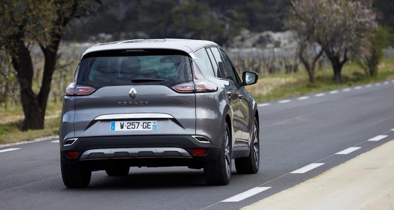 Renault Twingo, Koleos, Espace, Talisman et Mégane