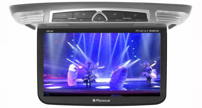 Phonocar : nouvel écran plafonnier de 12 pouces avec entrée HDMI