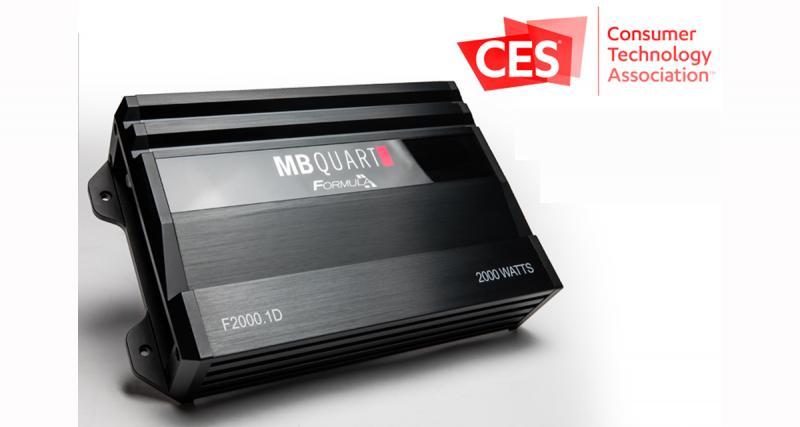 CES 2019 : nouvelle gamme d'amplificateurs Formula MB Quart