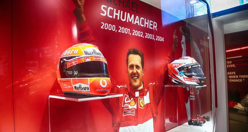 Une expo consacrée à Michael Schumacher au musée Ferrari