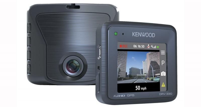La nouvelle dash cam Kenwood DRV-330 présente un très bon rapport prestations/prix