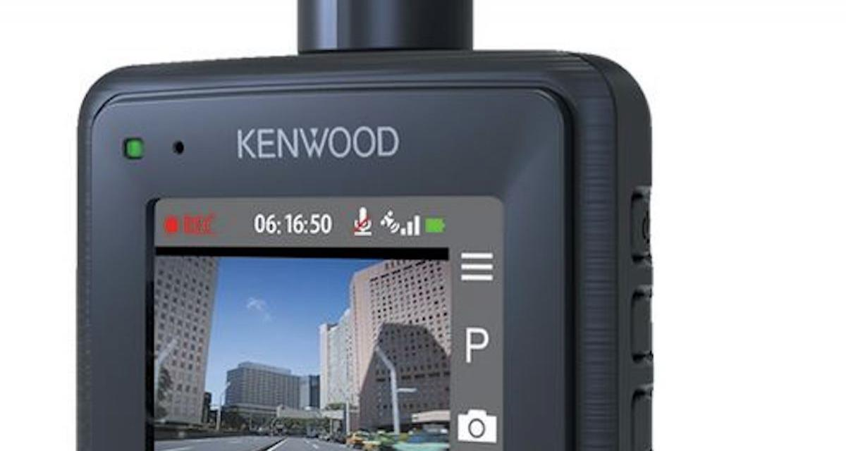 Kenwood DRV-330 : une dashcam simple et abordable