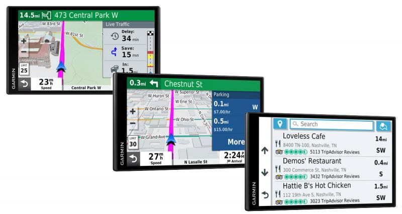 Au CES 2019, Garmin dévoilait une nouvelle gamme de navigateurs portables