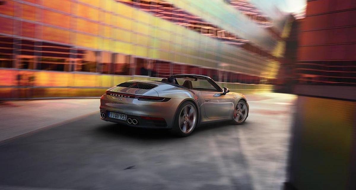Porsche 911 Cabriolet Carrera S et 4S : sans toit mais pas démunie