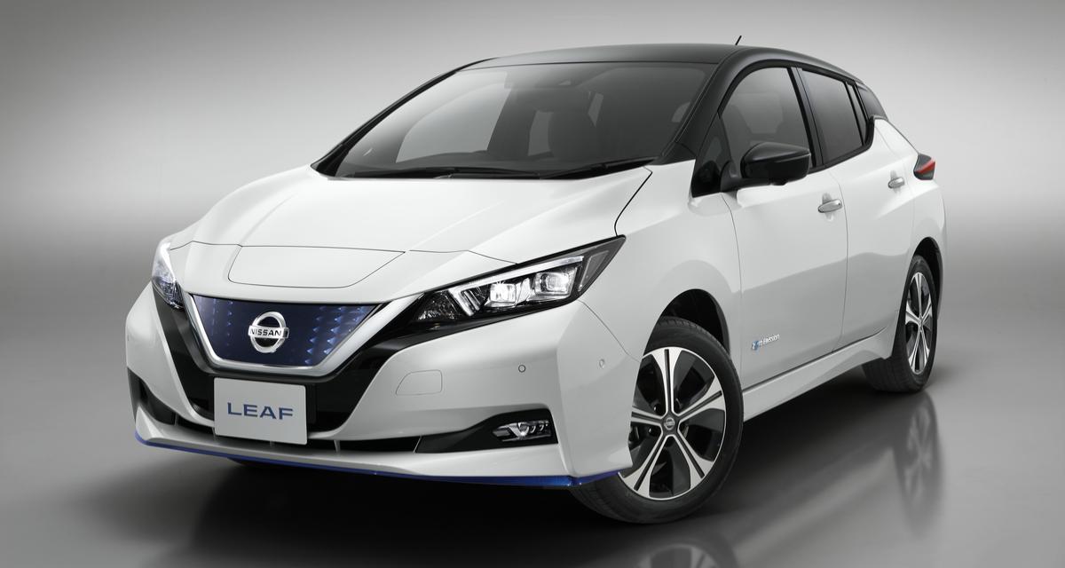 Plus d'autonomie et plus de puissance pour la Nissan Leaf e+