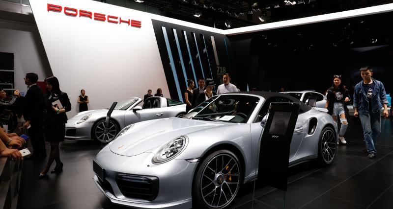 Porsche : des ventes mondiales en hausse en 2018