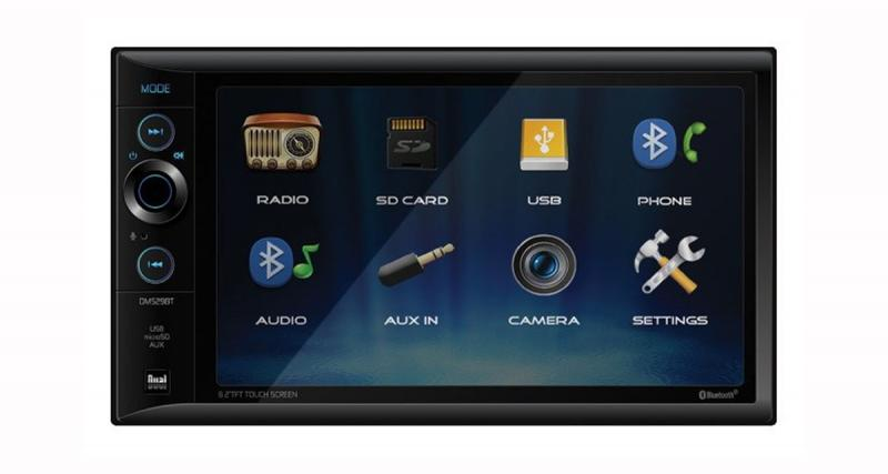 Au CES 2019, Dual Electronics présentait un autoradio vidéo à tout petit prix
