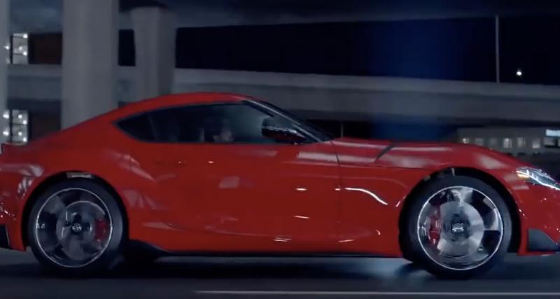 Toyota Supra 2020 : la vidéo officielle du coupé