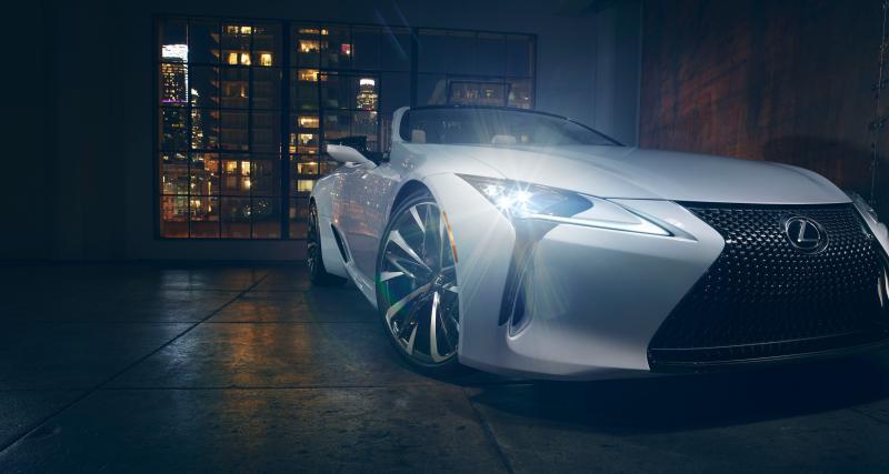 Salon de Détroit 2019 : Lexus présente un concept de la LC Cabriolet