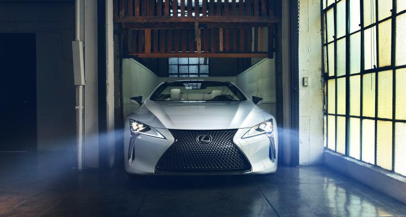Salon de Détroit 2019 : toutes les photos du concept Lexus LC Convertible