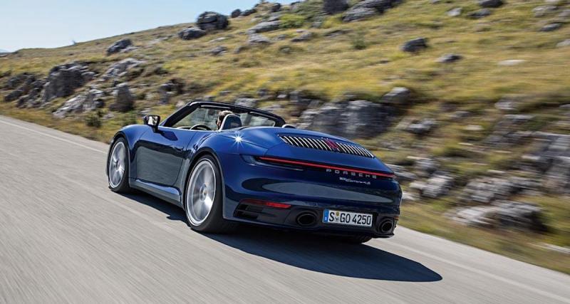 La nouvelle Porsche 911 cabriolet Carrera S et 4s en 4 points