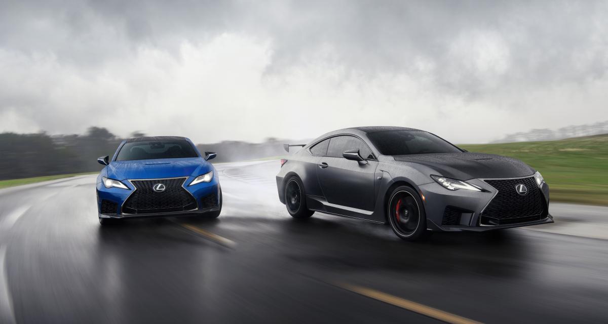 Salon de Détroit 2019 : toutes les photos de la nouvelle Lexus RC F Track Edition