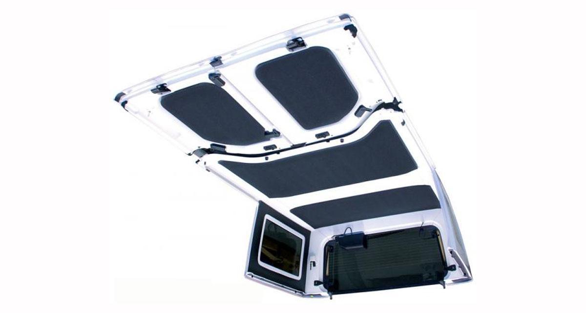 DEI commercialise un kit d'insonorisation pour réduire les bruits dans la Jeep Wrangler