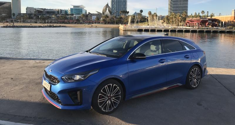 Kia ProCeed : nos photos de l'essai à Barcelone