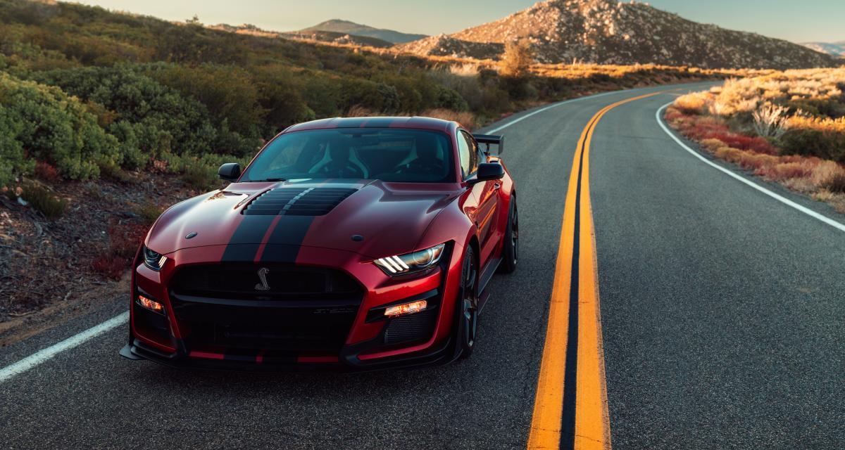 Ford Mustang Shelby GT500 2020 : un concentré de brutalité !