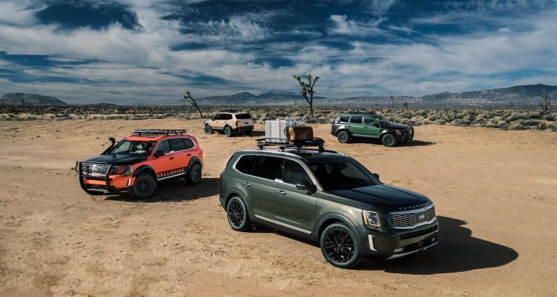 Salon de Détroit 2019 : toutes les photos du nouveau SUV Kia Telluride